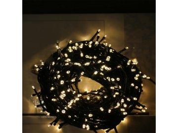 Solární vánoční osvětlení-Světelný řetěz 100 LED