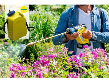 MultiJet Anwendung PflanzenschutzSet
