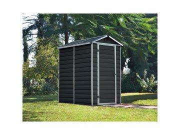 Palram Skylight 4x6 antracit - zahradní domek