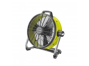 Ryobi R18F5-0 - aku ventilátor ONE+(bez baterie a nabíječky)