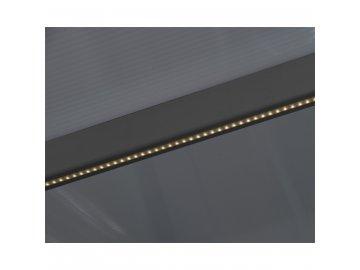 Palram LED osvětlovací systém 2,7 m s dálkovým ovládáním pro pergoly, altány a zimní zahrady