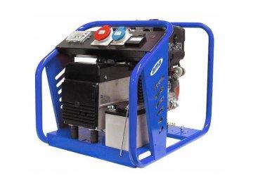 elektrocentrala diesel 7 3 kva starter 400 230 v 1