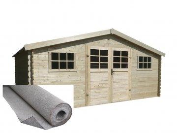 dřevěný domek SOLID JUDITA 523 x 388 cm (P88906)
