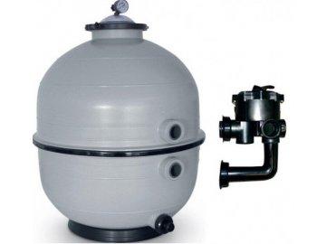 Filtrační zařízení - KIT MIDI 600,12 m3/h, 230 V, 6-ti cest. boč. ventil, čerp. FreeFlo