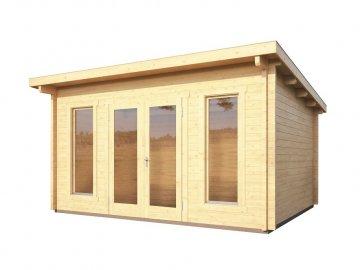 dřevěný domek KARIBU STAVANGER 1 (82875) natur