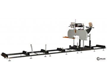 Kmenová pásová elektrická pila LUMAG BSW76E 400V