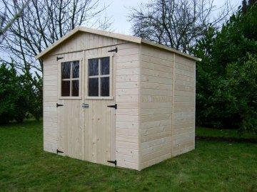 dřevěný domek SOLID EVA 229 x 194 cm (P851) - kopie