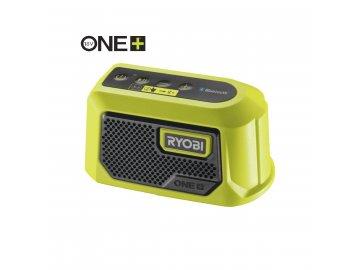 Ryobi RBTM18-0 - aku 18 V mini Bluetooth reproduktor ONE+(bez baterie a nabíječky)