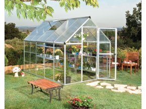 Palram hybrid 6x10 - polykarbonátový skleník