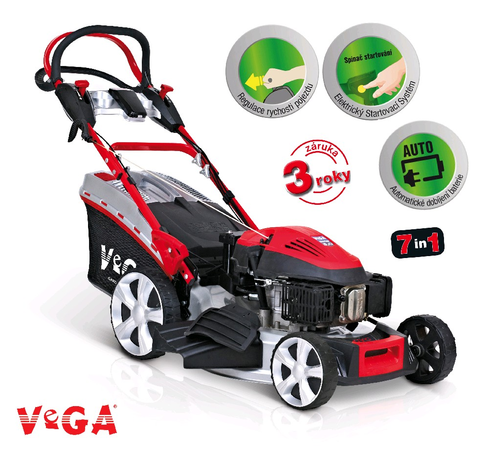 VeGA 545 SXHE 7in1 - benzínová sekačka s pojezdem a startérem