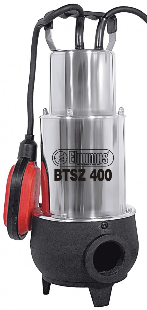 Elpumps BTSZ 400 - kalové čerpadlo do septiku s volným průtokem