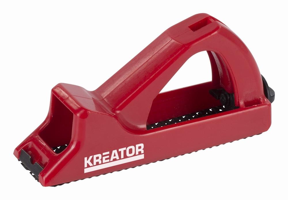 KREATOR KRT454003 - Hoblík/rašple plast 140x40mm