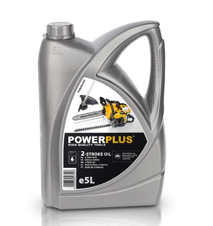 POWERPLUS POWOIL025 - Olej do 2-taktních motorů 5l