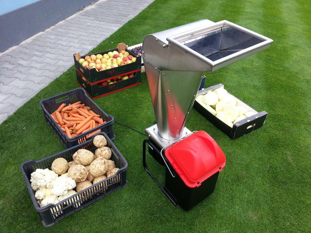 VARES Fruit SHARK MEGALODON 2,5 kW - drtič ovoce