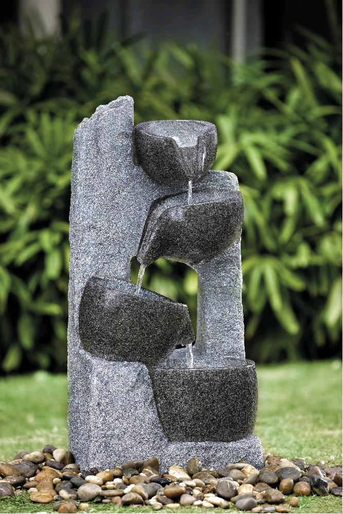 VeGA Fontána kamenné misky