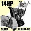 Lumag SFK80 - benzínová sněhová fréza