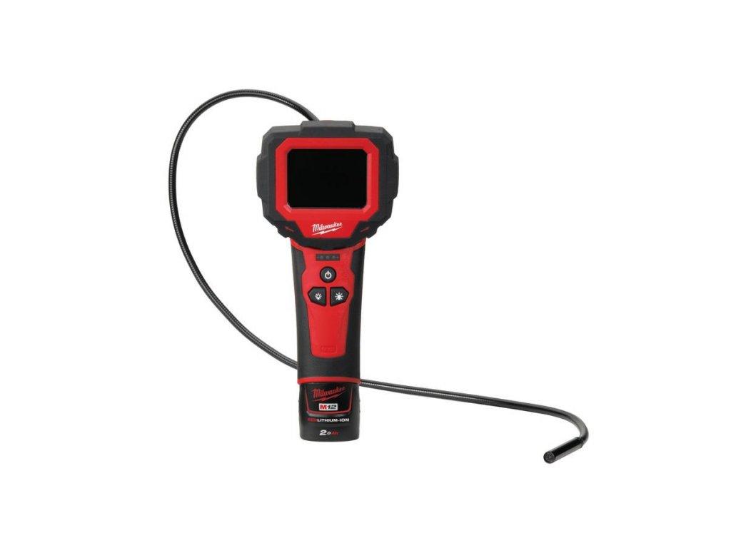 Milwaukee M12 IC-201C (S) M12™ kompaktní M-SPECTOR 360™ inspekční kamera