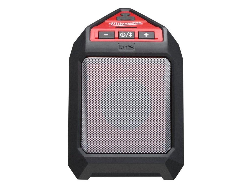 4933448380 Milwaukee M12 JSSP-0 Bluetooth reproduktor na staveniště
