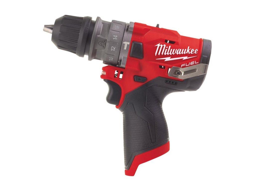 Milwaukee M12 FPDX 0 příklepova vrtacka