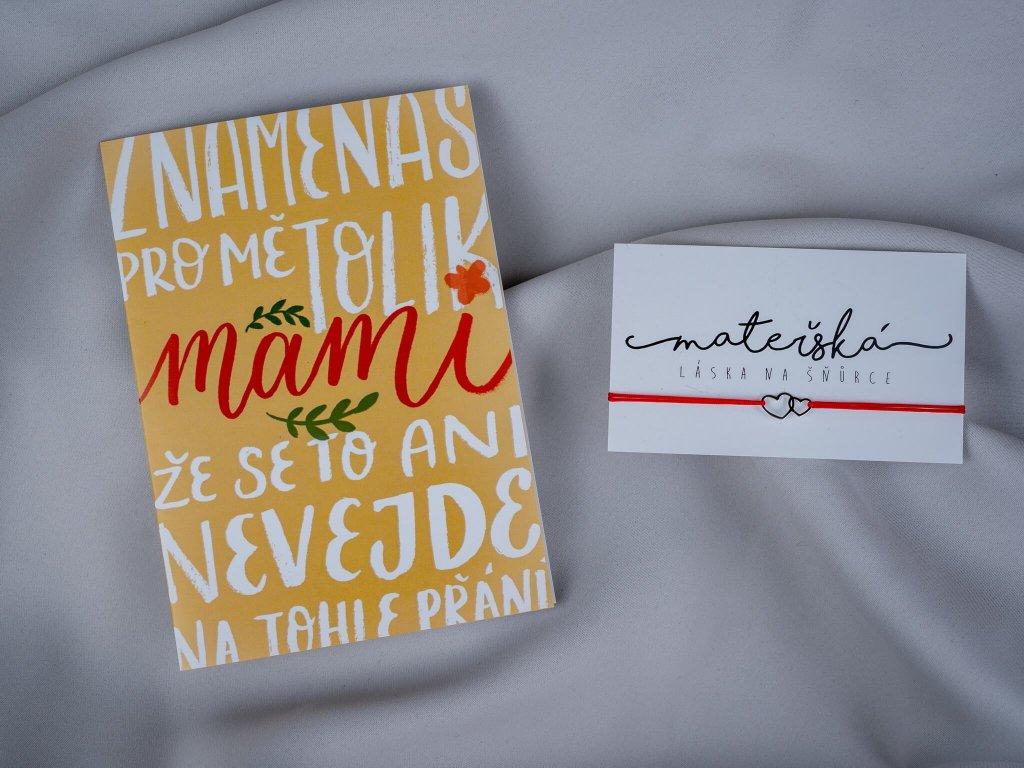 Znamenáš pro mě mami & spojená srdce