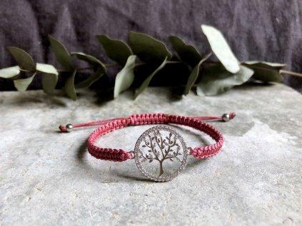 Macrame 7 strom života