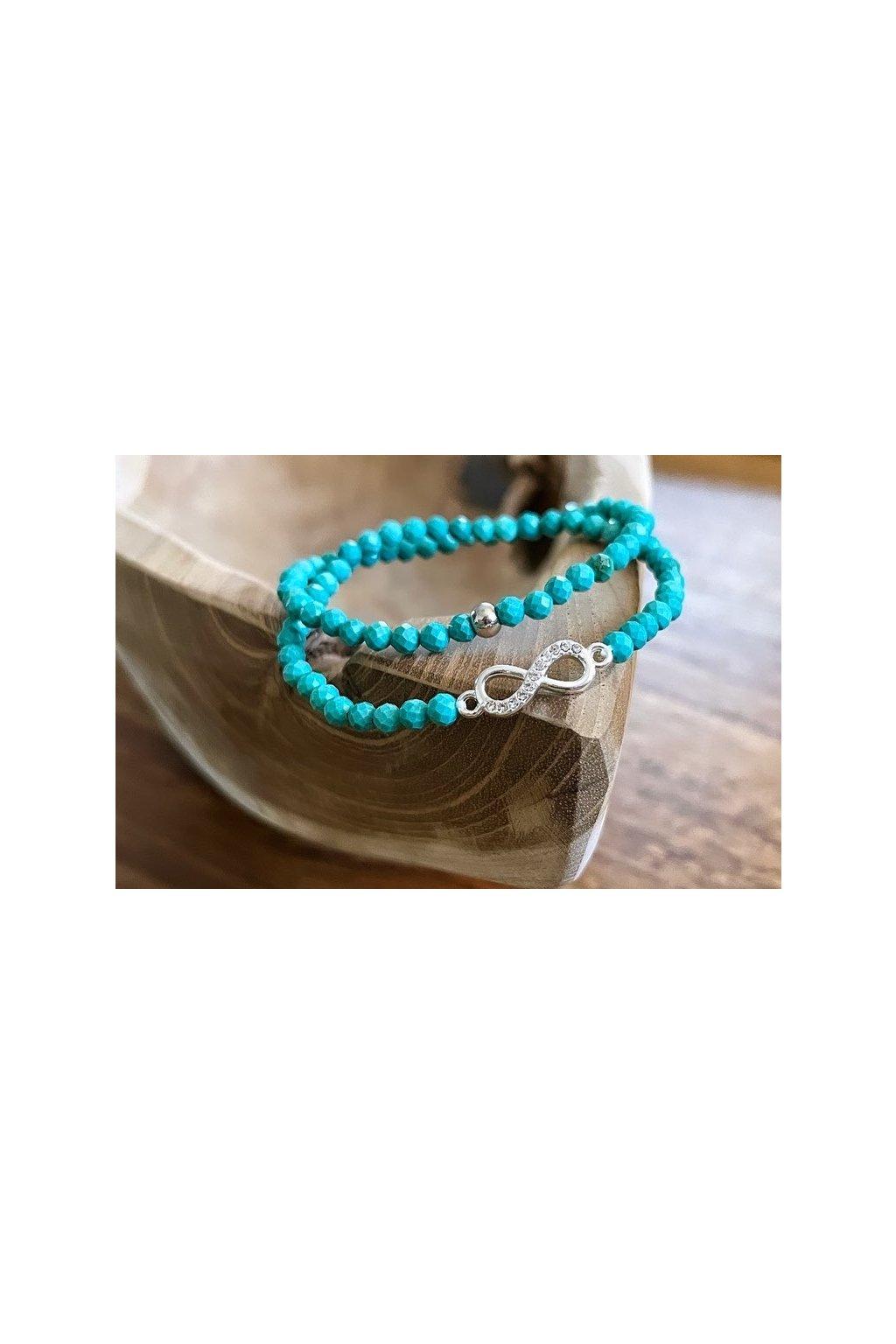 Dámský náramek z minerálů - Černá láva, Krajinový Jaspis, Malajský a Oceánový Nefrit, Hamsa