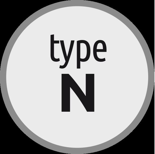 Typ N: Závitník pro oceli s pevností do 800 N/mm2