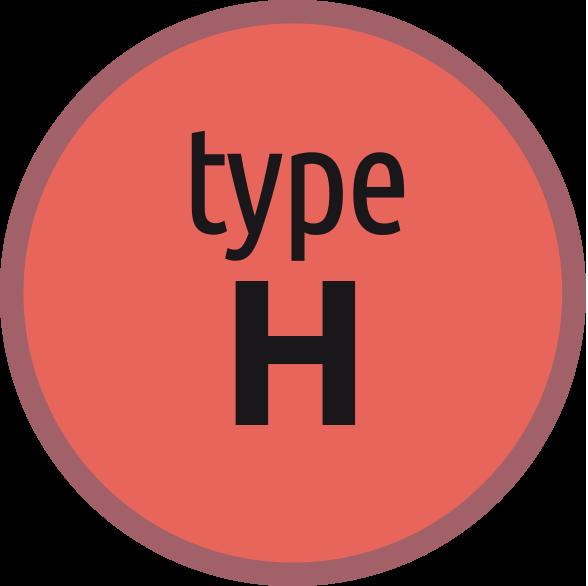 Typ H: Závitník pro oceli s pevností do 1100 N/mm2