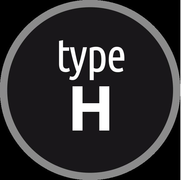 Typ H: Závitník pro oceli s pevností do 1400 N/mm2