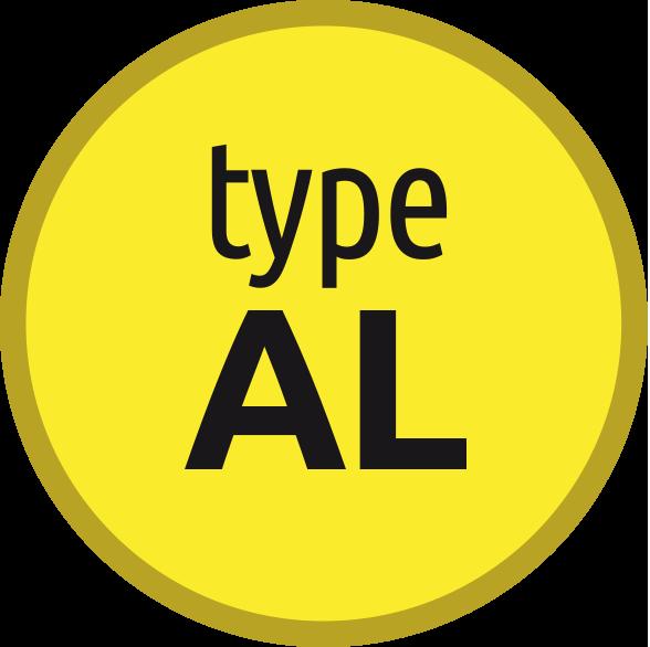 Typ AL: Závitník pro měkký hliník