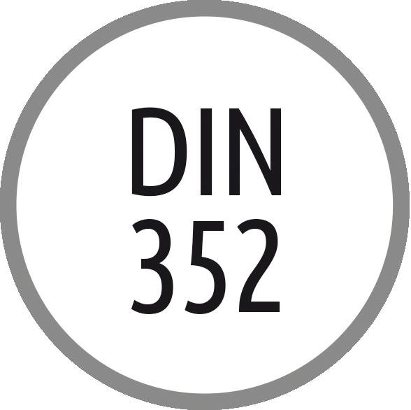 Norma závitníku: DIN 352