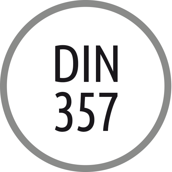 Norma závitníku: DIN 357