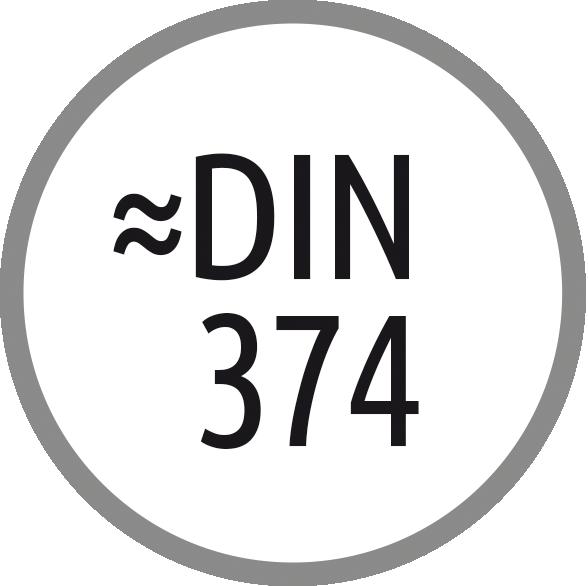 Norma závitníku: ~ DIN 374