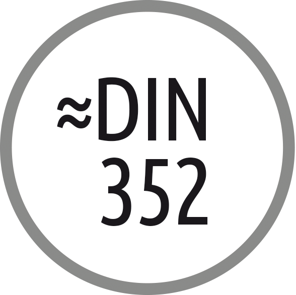 Norma závitníku: ~ DIN 352