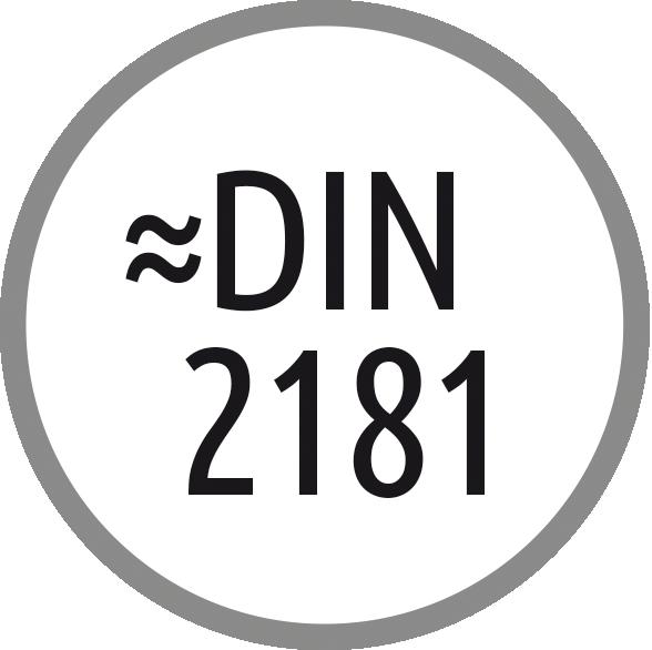 Norma závitníku: ~ DIN 2181