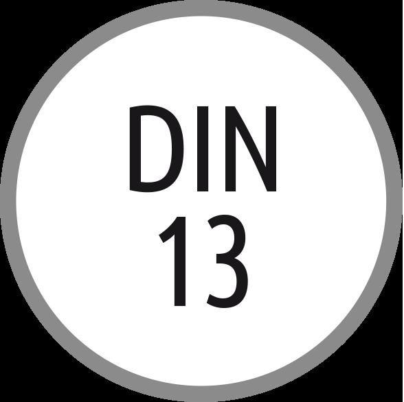 Norma závitu: DIN 13