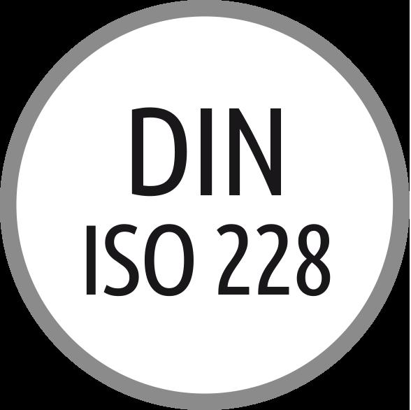 Norma závitu: DIN ISO 228