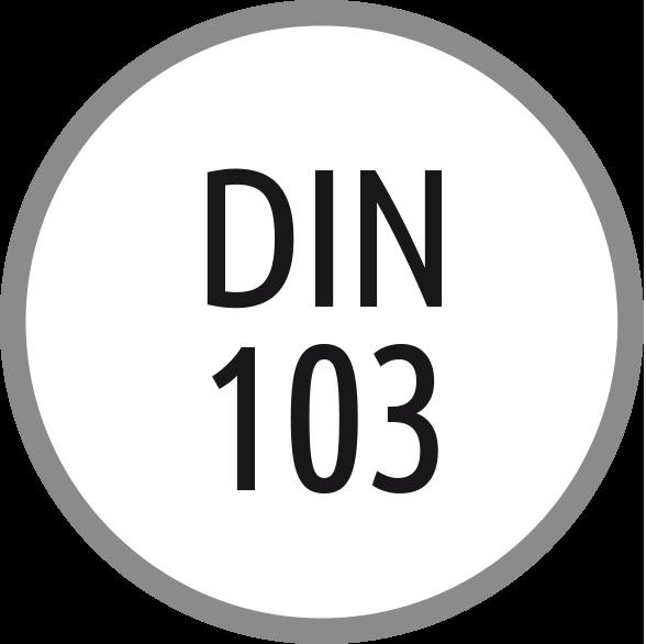 Norma závitu: DIN 103