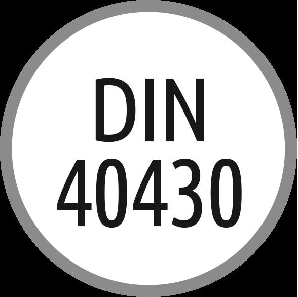 Norma závitu: DIN 40430