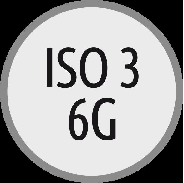 lícování závitů: ISO 3 - 6G