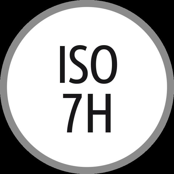 Lícování závitů: ISO - 7H