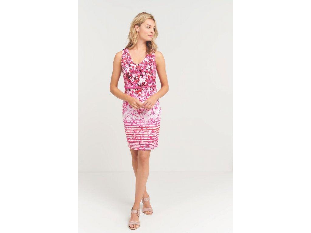 Růžové šaty