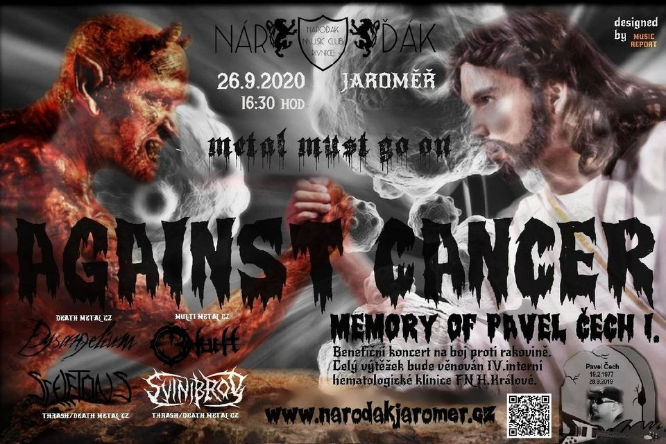26.9.2020 Against Cancer Memory of Pavel Čech Vol I.