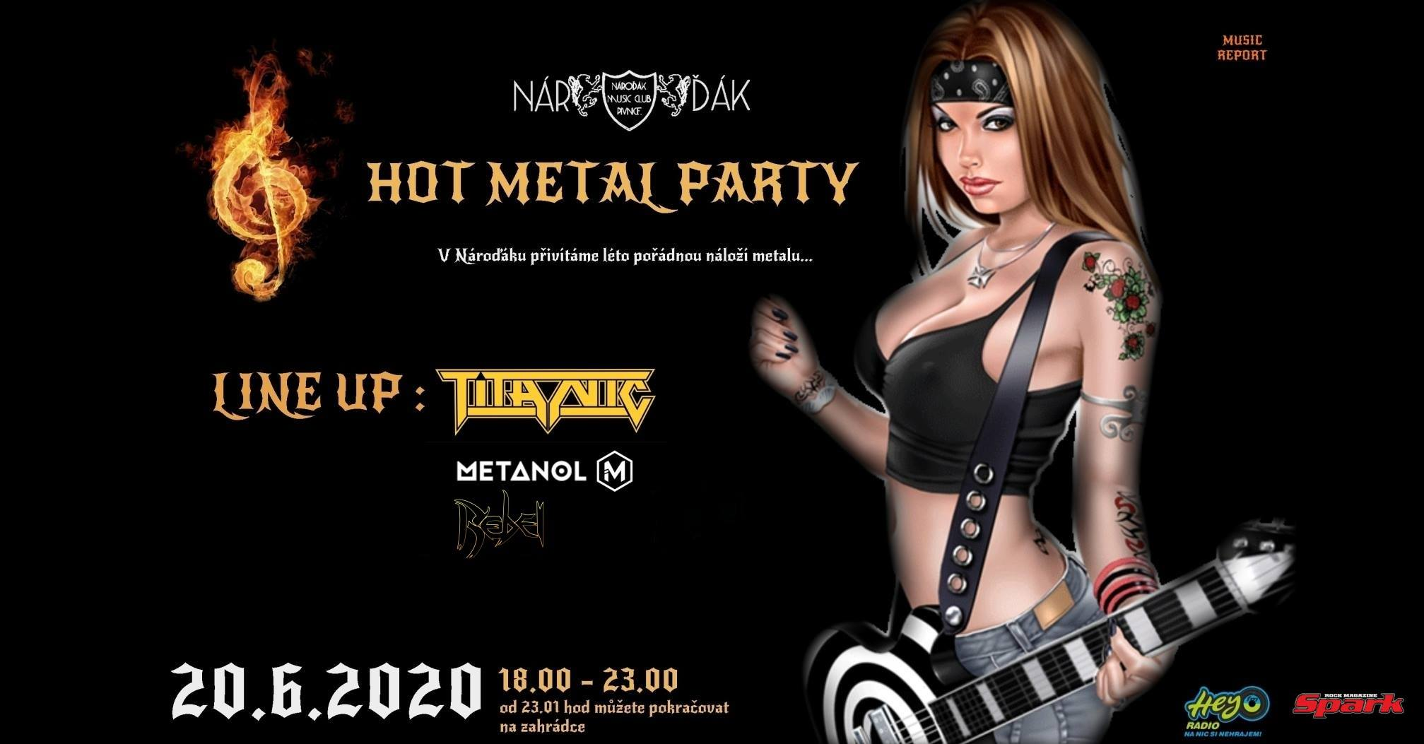 20.6.2020 HOT METAL PARTY
