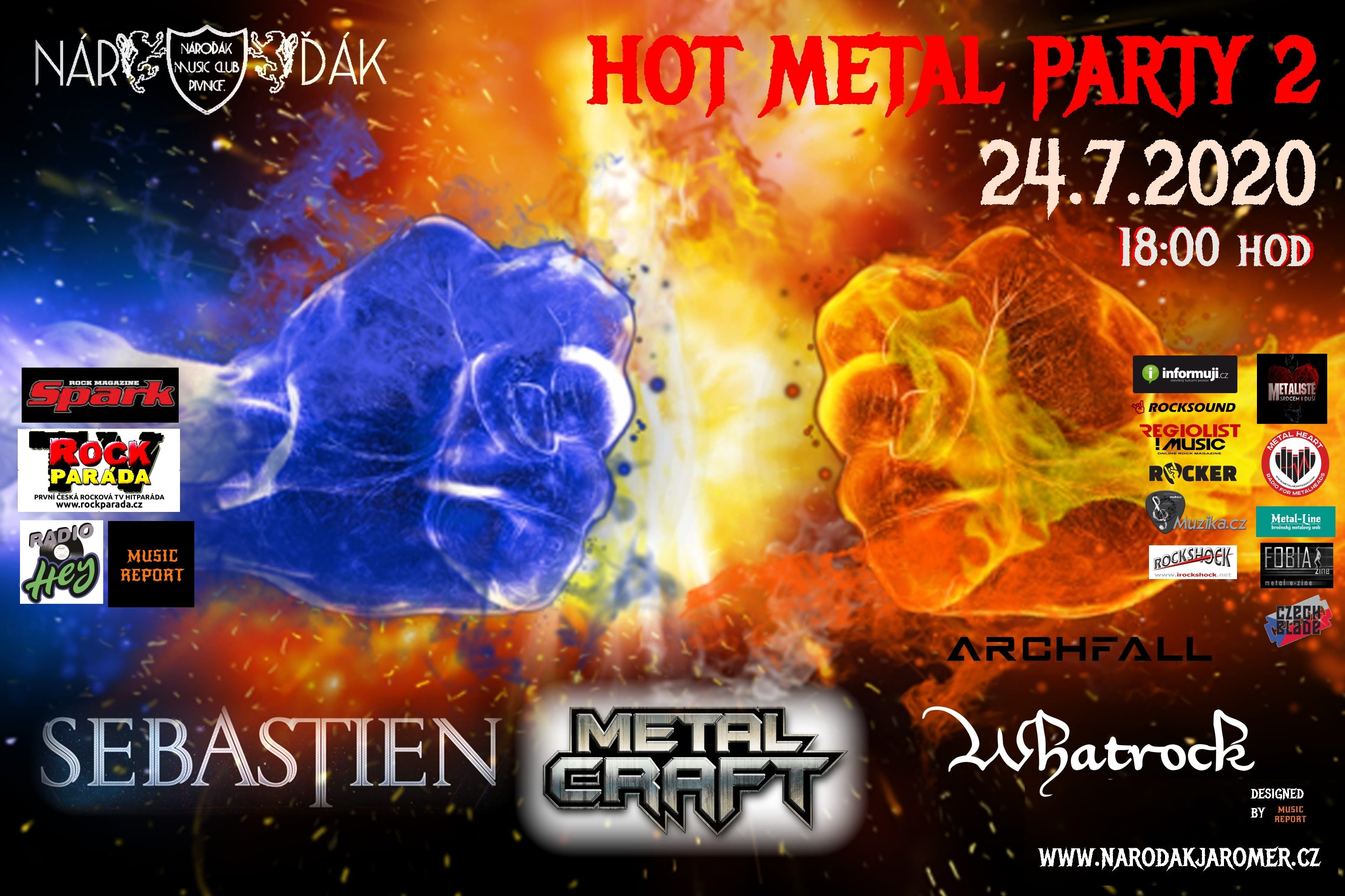 24.7.2020 HOT METAL PARTY II.