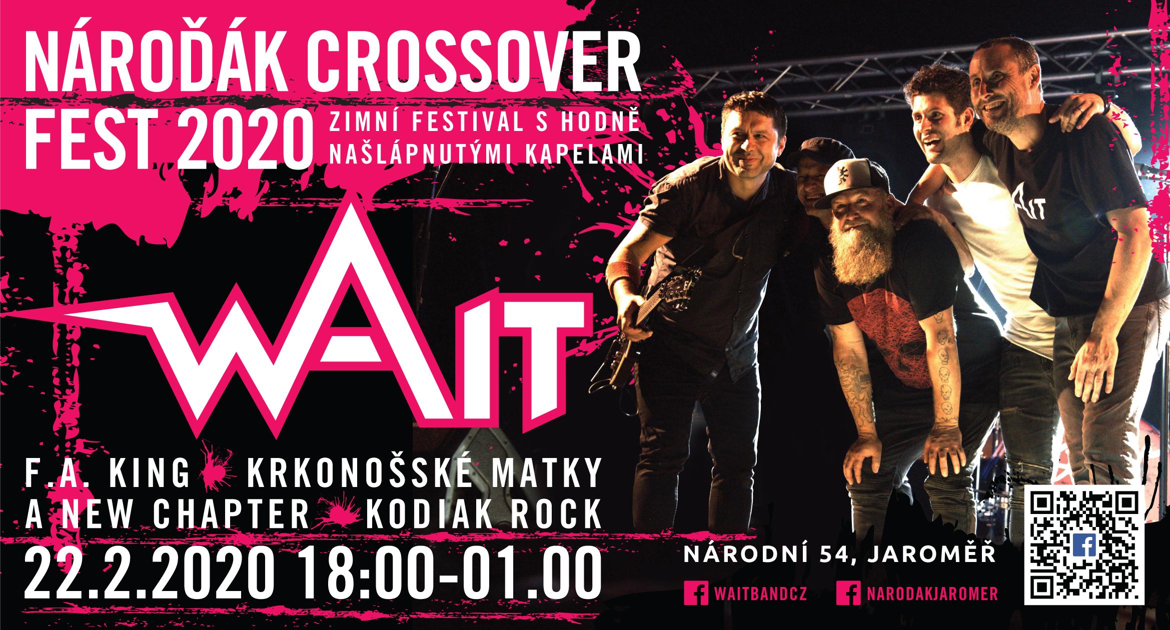 22.2.2020 Nároďák Crossover Fest