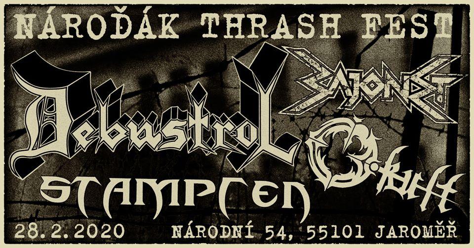 28.2.2020  Nároďák Thrash Fest