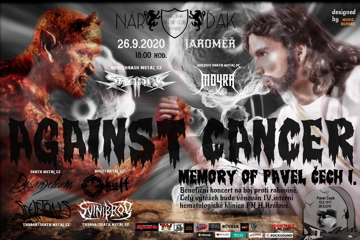 Against Cancer Memory of Pavel Čech Vol I.