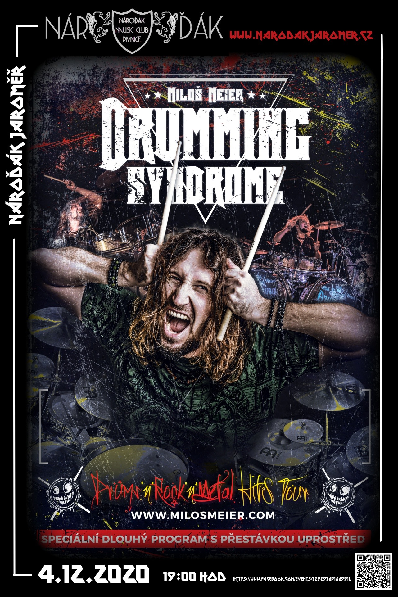 4.12.2020 Miloš Meier: Drumming Syndrome