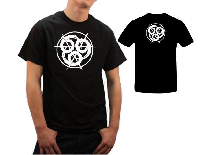 Tričko černé-666